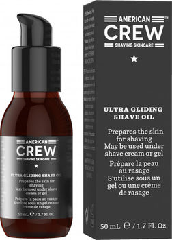 МАСЛО ДЛЯ БРИТЬЯ SHAVING SKIN CARE ultra gliding shave oil 50 ml