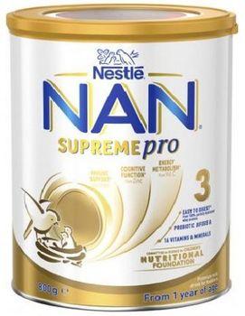 купить Nestle Nan 3 Supreme Pro  молочная смесь, 0+ мес. 800 г в Кишинёве