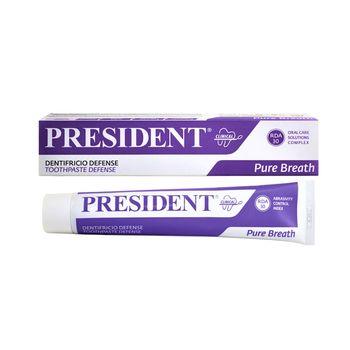 купить Pasta de dinti President Defense (pentru halitoza, respiratie proaspata) 75ml в Кишинёве