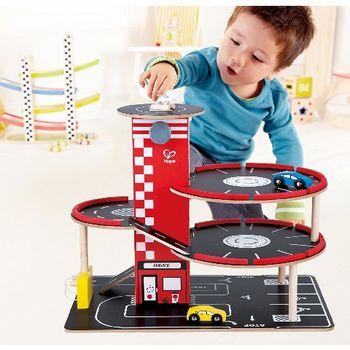 купить Hape Деревянная игрушка Гараж c четырьмя уровнями в Кишинёве