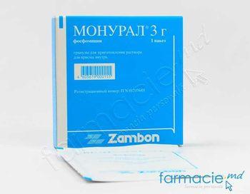 купить Монурал, гран /раствор для приема внутрь 3г N1 в Кишинёве