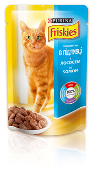 купить FRISKIES Adult (лосось и тунец в подливе), 100гр в Кишинёве