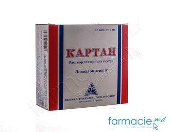 купить Cartan® sol. orala 100 mg/ml 10 ml N10 в Кишинёве