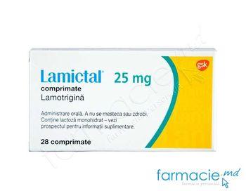 купить Lamictal™ comp. 25 mg N28 в Кишинёве