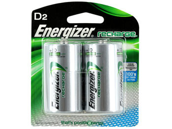 Energizer Rechargeable D/NH50 2500mAh
