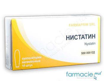 cumpără Nistatina supp. vag. 500000 UI N10 (FP) în Chișinău