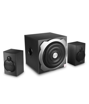 Active Speakers F&D A521 2.1 Multimedia Speakers 20 - 120 Hz (Subwoofer) + 120 - 20,000 Hz (Satellite), 2x16W(RMS), 20W(subwoofer), wooden