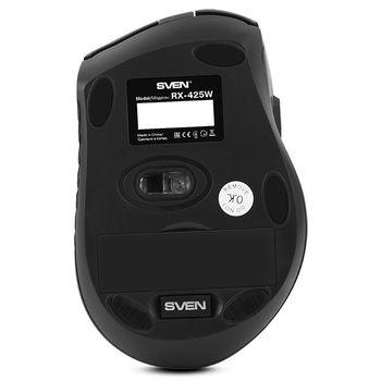 Wireless Mouse Sven RX-425W, Black