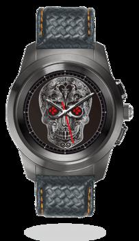Смарт-часы MyKronoz ZeTime Premium 44mm Titanium case Black Carbon