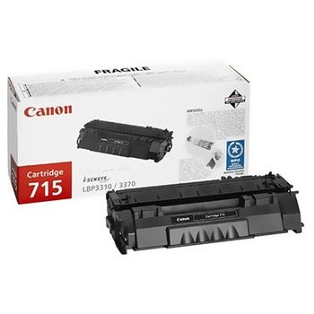 Cartridge Canon 715, Black (3000 pages) for LBP-3310/3370