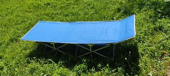 Sezlong - Pat pliant pentru  camping