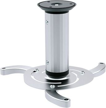 Sunne PRO03S Ceiling Projector Bracket, Ceiling to Projector 8 or 15cm Tilt -15°~+15°, Swivel 360°, max 10kg, universal mounting pattern