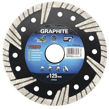 Graphite Диск отрезной алмазный 115мм 57H625
