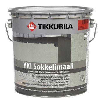 Tikkurila Краска для цоколя Yki C Глубокоматовая 2.7л