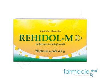 купить Rehidol-M  Plus pulb./sol.orala 4.2g N20 (Depo) в Кишинёве