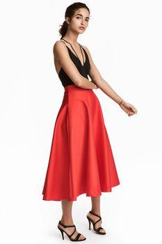 Юбка H&M Красный