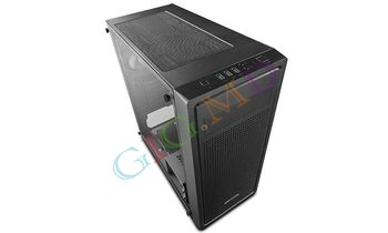 Case ATX Deepcool E-SHIELD,  USB3.0, Black