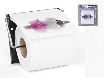 Держатель для туалетной бумаги с крышкой Borneo