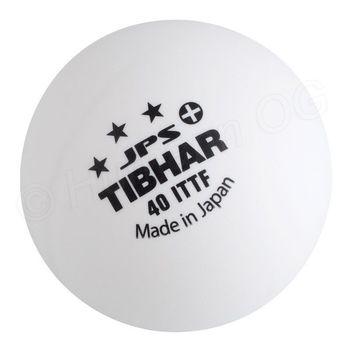 Мяч для настольного тенниса Tibhar 3*** JPS+, 40 mm, white (940)