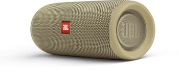 JBL Flip 5 Sand / Bluetooth Portable Speaker, 20W RMS, BT Type 4.2, Frequency response: 70Hz – 20kHz, IPX7 Waterproof, Speakerphone, 4800mAh rechargeable Li-ion battery, JBL Connect, JBL PartyBoost, Power Supply: 5V / 1A, Battery life (up to) 12 hr