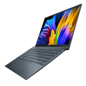 "купить NB ASUS 14.0"" Zenbook UM425UA (Ryzen 5 5500U 16Gb 512Gb) 14.0"" FHD (1920x1080) Non-glare, AMD Ryzen 5 5500U (6x Core, 2.1GHz - 4.0GHz, 8Mb), 16Gb (Onboard) PC4-29800, 512Gb PCIE, AMD Radeon Graphics, HDMI, 802.11ac, Bluetooth, 2x USB-C, 1x USB 3.2, Card Reader, IR HD Webcam, No OS, 4-cell 67Wh Battery, Illuminated Keyboard, 1.22kg, Pine Grey, Sleeve, RJ45 adapter в Кишинёве"