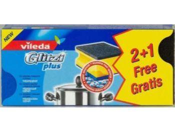 купить Vileda Губки из поролона кухонные, 3 шт в Кишинёве