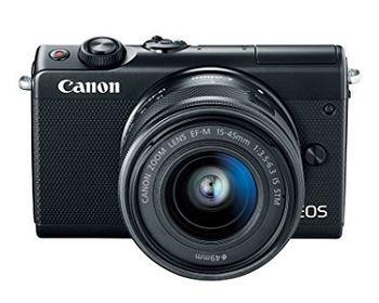 DC Canon EOS M100 Black & EF-M 15-45 STM