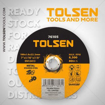 купить Диск отрезной по металу 180x1.6x22 Tolsen в Кишинёве