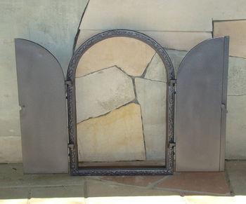купить Дверца чугунная глухая двустворчатая DW13 в Кишинёве