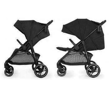 Прогулочная коляска Kinderkraft Grande City Black