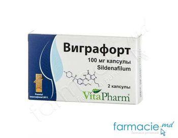 купить Vigrafort caps. 100 mg N2(Vitapharm) в Кишинёве