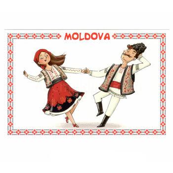 cumpără Carte Poștală – Costum Tradițional în Chișinău
