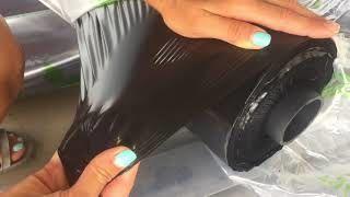 купить Плёнка черная Мульчирующая  (Кл.1) 100микр H-1m L-300m в Кишинёве