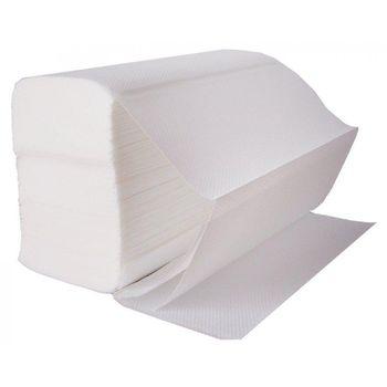Бумажные полотенца Fesko, 2 слоя, Z сложения, 200 листов (белые).