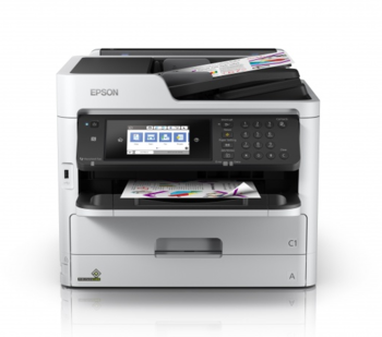 cumpără Epson WorkForce Pro WF-C5790 DWF, Printer/Scanner/Copier/Fax, A4, Printer resolution: 4800x1200 DPI, Scaner resolution: 1200x2400 DPI, Ethernetm USB 2.0 în Chișinău