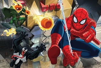 "16259 Trefl Puzzle - ""100"" - Escape / Disney Marvel Spiderman"