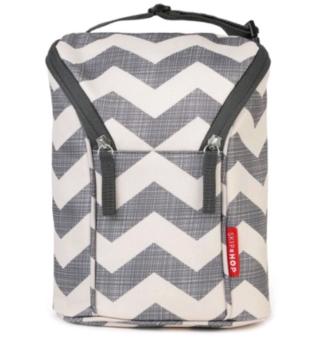 купить Skip Hop термо сумка для бутылочек GrabGo Chevron в Кишинёве