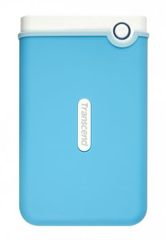 "купить 1.0TB (USB3.0) 2.5"" Transcend ""StoreJet 25M3"", Blue, Anti-Shock, One Touch Backup в Кишинёве"