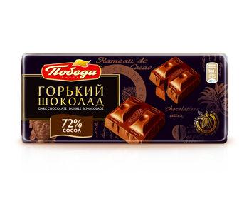 Шоколад Горький 72% 100гр