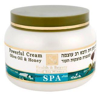 купить Health & Beauty Интенсивный крем на основе оливкового масла и меда 250ml в Кишинёве
