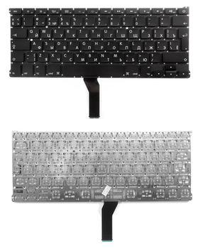 "Keyboard Apple Macbook Air 13"" A1369 A1466 w/o frame ""ENTER""-big ENG/RU Black"