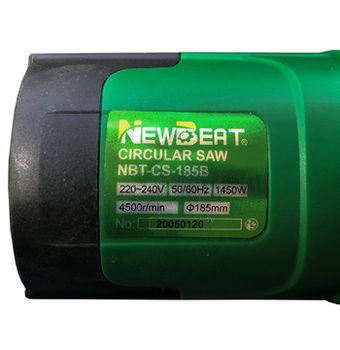 купить Дисковая пила NewBeat 1450 Вт NBT-CS-185B в Кишинёве