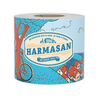 Туалетная бумага Harmasan 1 слой 50м