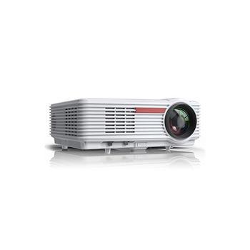 "Проектор ASIO LED AY-5801 White Projector , 5.8"" LCD TFT, 16:9 & 4:3, 4500 lumens, 3000:1, 1280x800, supp. 1080P, LED Lamp 120W, Lamp Life: 50000 hours, Pict. size: 1m - 5m, Speakers 2x3W, 2xHDMI/2xUSB/VGA/AV/YPbPr/RJ45 port"