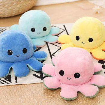 Octopus Plush I желто-синий