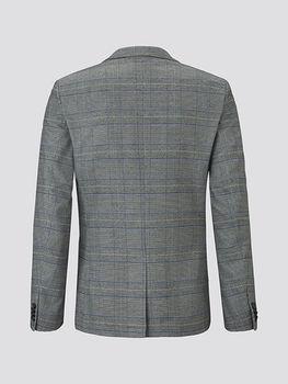 Пиджак Tom Tailor Серый в клетку tom tailor 1015384