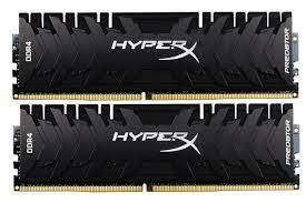 16 ГБ DDR4-3600 МГц Kingston HyperX Predator (комплект из 2x8 ГБ) (HX436C17PB4K2 / 16), CL17, 1,35 В, черный