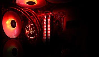 """AIO Liquid Cooling  Deepcool """"GAMMAXX L240T RED"""""""
