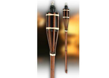 Факел садовый H67.5cm, 1шт, бамбук
