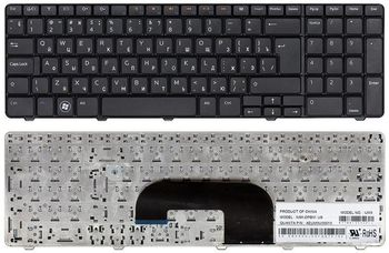 Keyboard Dell Inspiron N7010 ENG/RU Black